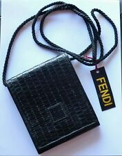 Bag FENDI Shoulder Leather Made in Italy SMALL Vintage
