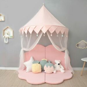 Kids Play Tent Castle House Indoor Canopy Net Bed Tent Children Adult Room Deco