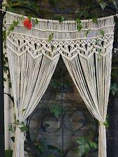 Macrame Wall Hanging Tapestry Room Divider Door Window Curtain Wedding Backdrop