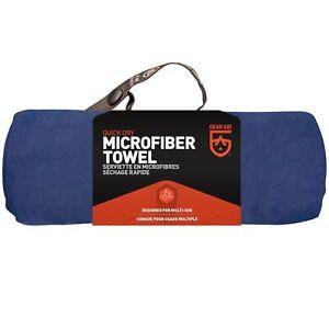 Gear Aid McNett Tactical Ultra Compact Microfiber Towel & Bag Navy Blue Large