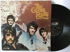 The Grass Roots Lovin Things Promo Record Album Vinyl 33 rpm LP Ships Free