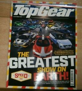 BBC Top Gear magazine Nov '21 TopGear's Performance Car of The Year + Bond rated