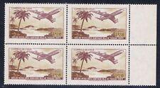 Chile #413(53) 1971 2.35 escudo Boeing 707 RIGHT MARGIN Block MNH SCV$1.80