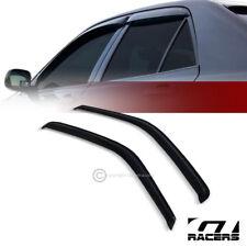 For GMC Savana 1996-2016 Window Side Visors Sun Rain Guard Vent Deflectors