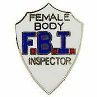 Leather Key Fob with an antique FBI Mini Badge inside was sold at the Gift Shop at MCO Quantico until 1993