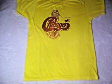 Vintage 80s CHICAGO Rock Band Tour T-Shirt