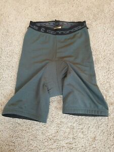 +Cannondale padded liner cycling shorts mountain bike size M men's grey sport