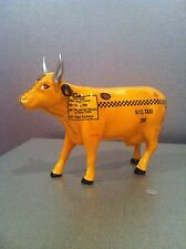 """COW PARADE """"TAXI COW"""" #9160 W/ TAG MINT 2000"""