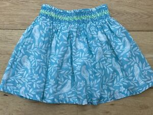 Ex Mini Boden Summer Skirt Smocked Waist Pretty Floral Pattern 3-4, 4-5 Unworn