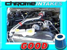 RED BLUE 03-08 DODGE RAM 1500/2500/3500 5.7L V8 HEMI FULL COLD AIR INTAKE ST3