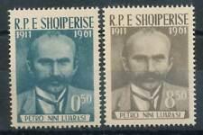 250978) Albanien Nr.645-6** 50. Todestag von Petro Nini Luarasi
