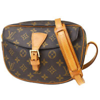 Auth LOUIS VUITTON Jeune Fille PM Shoulder Bag Monogram Leather M51227 89MC466