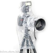 Rain cover per Canon EOS 1100D 600D 60D 70D 80D +FLASH protezione pioggia acqua