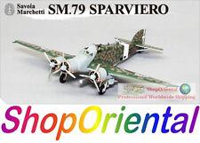 Big Bird 5 WW2 Italy Savoia Marchetti SM.79 Torpedo Bomber 1/144 Model BB5_2A