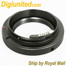 AF Confirm T2 T-mount telephoto lens to Canon EOS EF mount adapter 60D 550D 600D