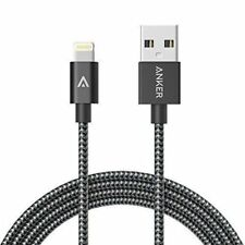 Anker 3 Ft Nylon Braided Durable Charging Cable for iphone 7, 5, 6, 8, X