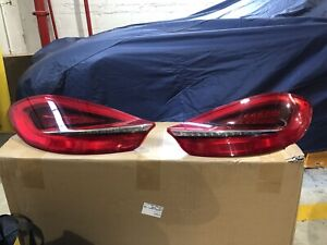 PORSCHE 981 BOXSTER GENUINE OEM FACTORY ORIGINAL LEFT & RIGHT TAILLIGHT ASSEMBLY