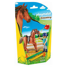 Playmobil Country Horse Therapist With Horse Building Set 9259 New Toys