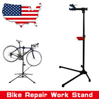 Pro Bicycle Metal Repair Work Stand w/Telescopic Arm Mountain Bike Cycle Rack