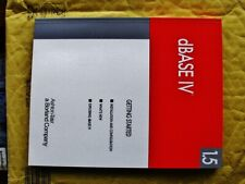Borland dBase IV v1.5 manuals Ashton-Tate dBase 2 to 5 with DOS Compilers DBMS