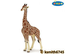Papo MALE GIRAFFE solid plastic toy wild zoo African animal  NEW 💥