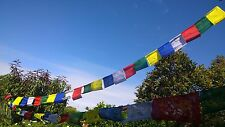 7.5 Meter Buddhist Prayer Flags Tibetan Spiritual Mantra 25 Flags