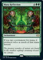 Magic the Gathering (mtg): Double Masters: Mana Reflection - Rare