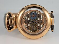 Stuhrling Original Men's The Emperor 1889 Triple Bridge Men's Watch Rose Gold