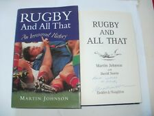 Rugby and All That by Martin Johnson (Hardback, 2000)