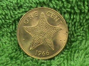 BAHAMAS   1 Cent   1966   UNC