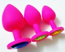 Anal Plug S, M, L Size Silicone Butt Bijou Intime Rosebud Large Homme Sextoys
