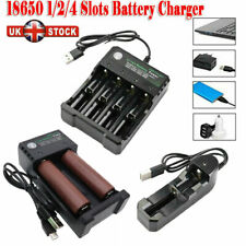 LG Battery 3000mAh Li-ion Rechargeable High Drain Batteries & USB Charger