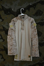 USMC Marines FROG Desert MARPAT Digital Camo Combat Shirt, Size Medium Long