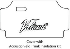 1967 1969 Plymouth Valiant Trunk Rubber Floor Mat Cover with MA-010 Valiant