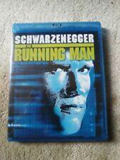 The Running Man (Arnold Schwarzenegger Maria Conchita Alonso) Region B Blu-ray