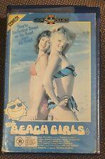 THE BEACH GIRLS 80s TnA Comedy RCA VIDEO OPAL Series VHS Mary Jo Catlett