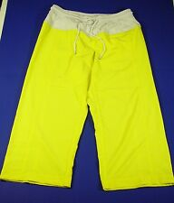 LULULEMON NWOT Size 4 yellow yoga pants, tie front, back zipper pocket $49.95