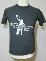 AND1 Black 'Finger Roll' T-Shirt  -  Size S