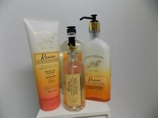 Bath and Body Works New Aromatherapy Revive - Mist, Gel, Cream, Lotion 4 pc set