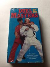 Duel Of The Masters VHS 1988 Rare Martial Arts Video Movie