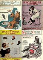 168 OLD RARE ISSUES Of THE SHOE & LEATHER JOURNAL MAGAZINE (1910-1923) ON DVD