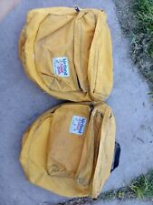 VINTAGE Bicycle Plastic Frame Triangle tool Bag brown NOS