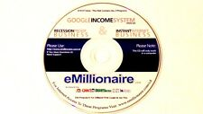 Emillionaire Cd Rom Goodle Income System Internet Business Recession Proof