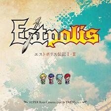 New Lufia Estpolis Denki I II Original Soundtrack 3 CD Japan