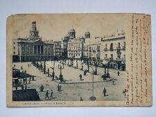 CADIZ Cadice Spain plaza de isabel old postcard