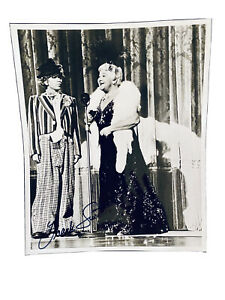 RARE Sophie Tucker Vaudeville Young Frank Sinatra, Photo with Forged Signature