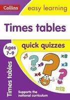Times Tables Quick Quizzes: Ages 7-