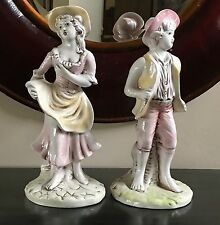 Gruppo Bell Europa Country Boy and Girl Statues ( set of 2) - Italy