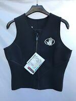Body Glove Women's (Size 11/12) 3mm Neoprene Barrier Zip-up Vest