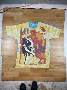 Guns n' Roses vintage 90s 1991 Your Illusion Tour original t-shirt
